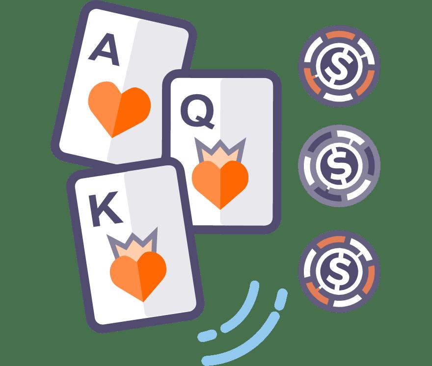 Jouez au poker à trois cartes en direct